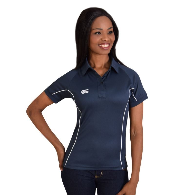 Picture of Canterbury Ladies Side Panelled Polo