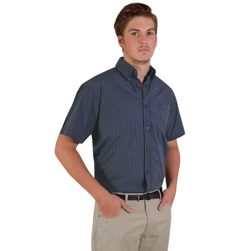 Picture of Three-tone small check - short sleeve