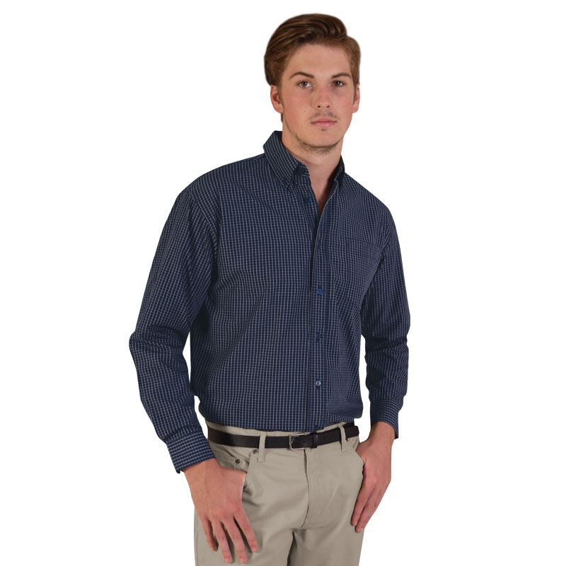 Picture of Three-tone small check - long sleeve